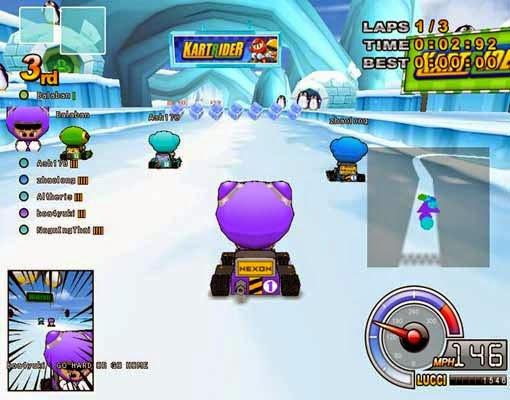 تحميل لعبة السيارات الصغيرة Kart Rider لعبة سباق جديدة اون لاين