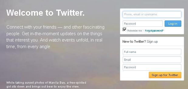 solusi daftar twitter agar tidak lama
