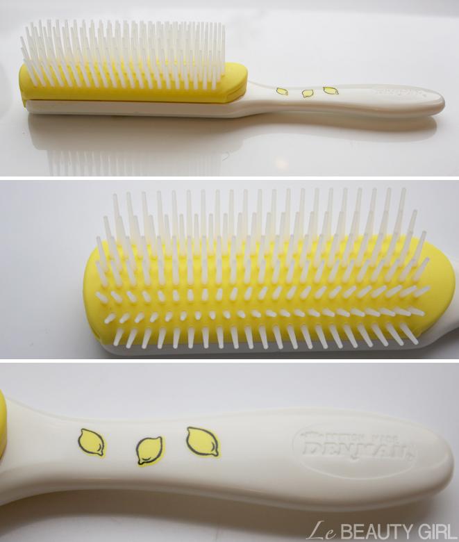 Denman Tutti Frutti Fragranced Hair Brush (Lemon Sherbet)