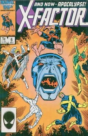X-Factor #6 comic cover