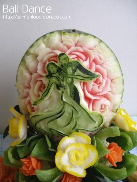watermelon carving pattern