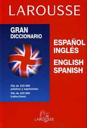 Diccionerio de inglés