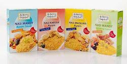 Set Beras Mandy, Kabshah dan Maqlubah