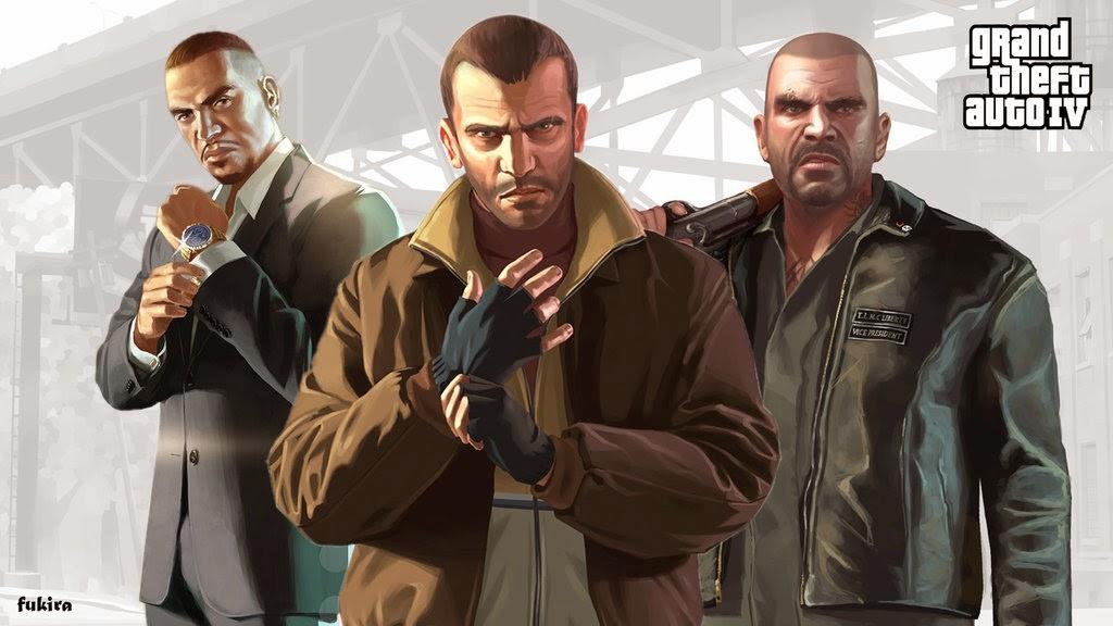 تحميل لعبة GTA Grand Theft Auto IV بروابط مباشرة