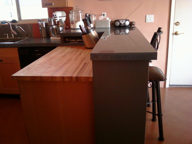Countertop Height Vs Bar Height : ... Kitchen Remodeling Ideas: The Peninsula & The Butcher Block Countertop