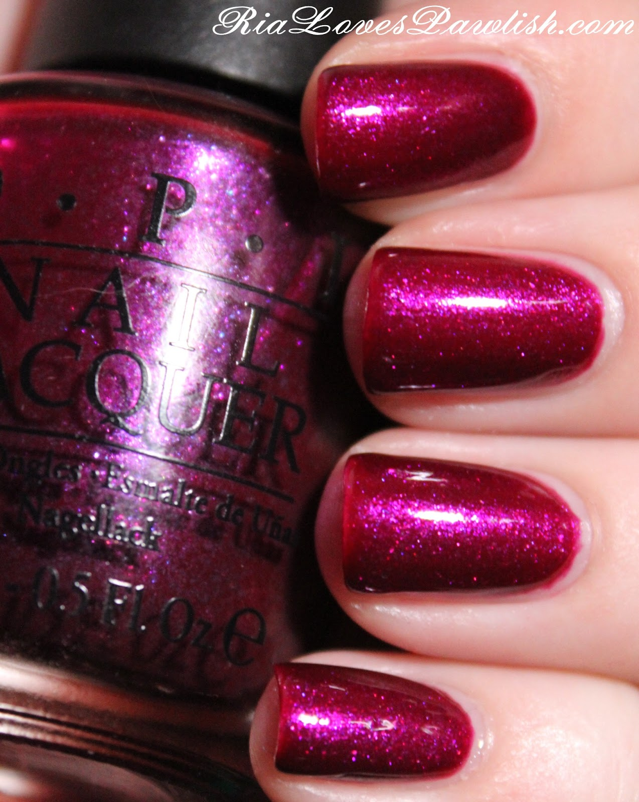 Ria Loves Pawlish: OPI Congeniality Is My Middle Name