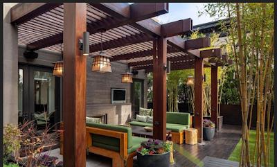 tiang rumah minimalis dari kayu