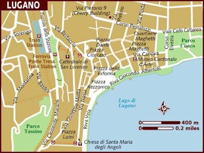 Mappa Politica di Lugano