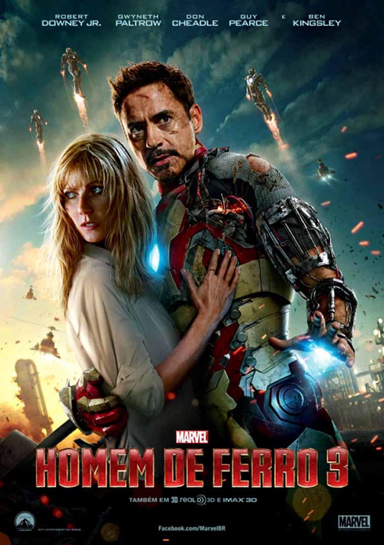 Homem de Ferro 3 3D Torrent - BluRay 1080p Dual Áudio