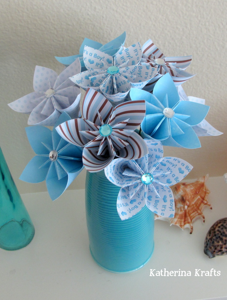Baby Boy Gifts Flowers : Katherina krafts baby boy flowers