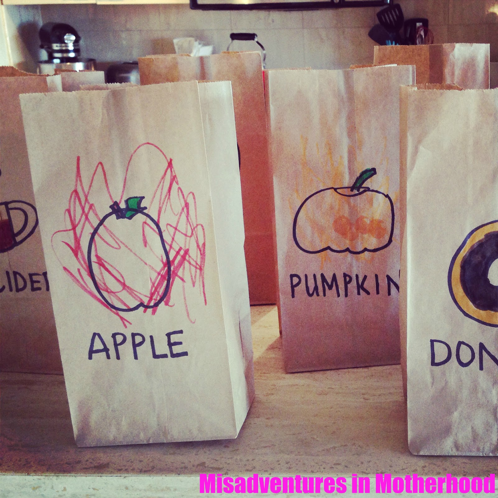 Harvest snack bags
