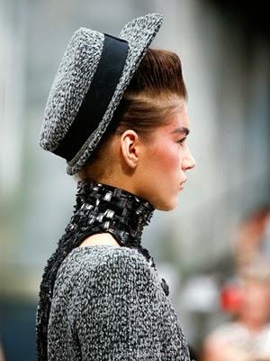moda sombreros peinados 2014