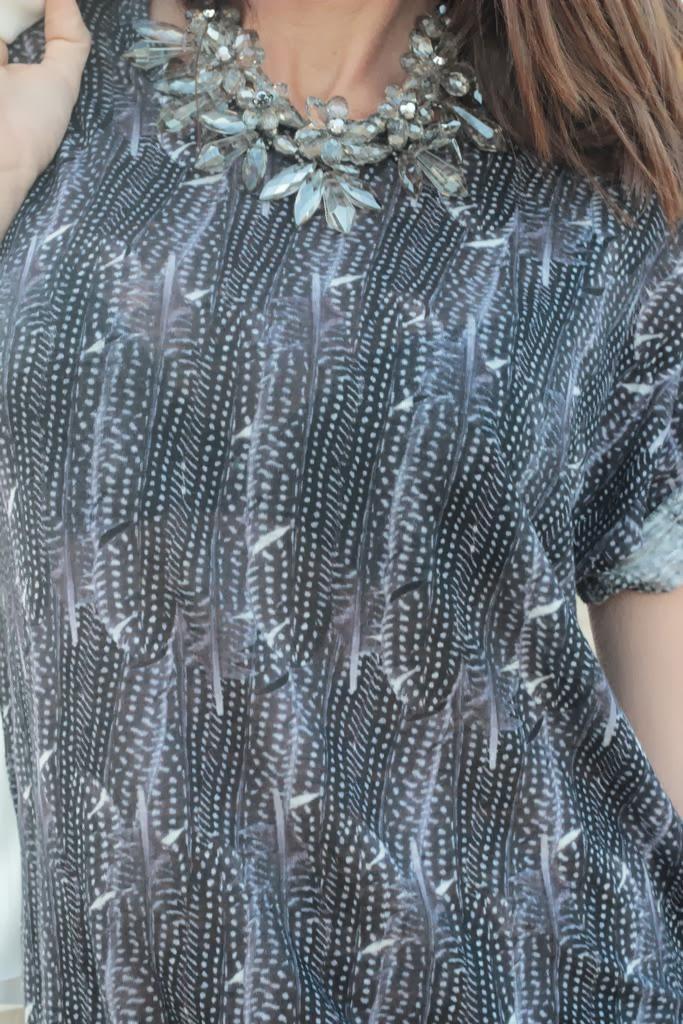 Collar Zara - T-shirt ISABEL MARANT