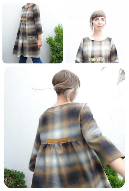 Stylish Dress Book: E - plaid tunic dress