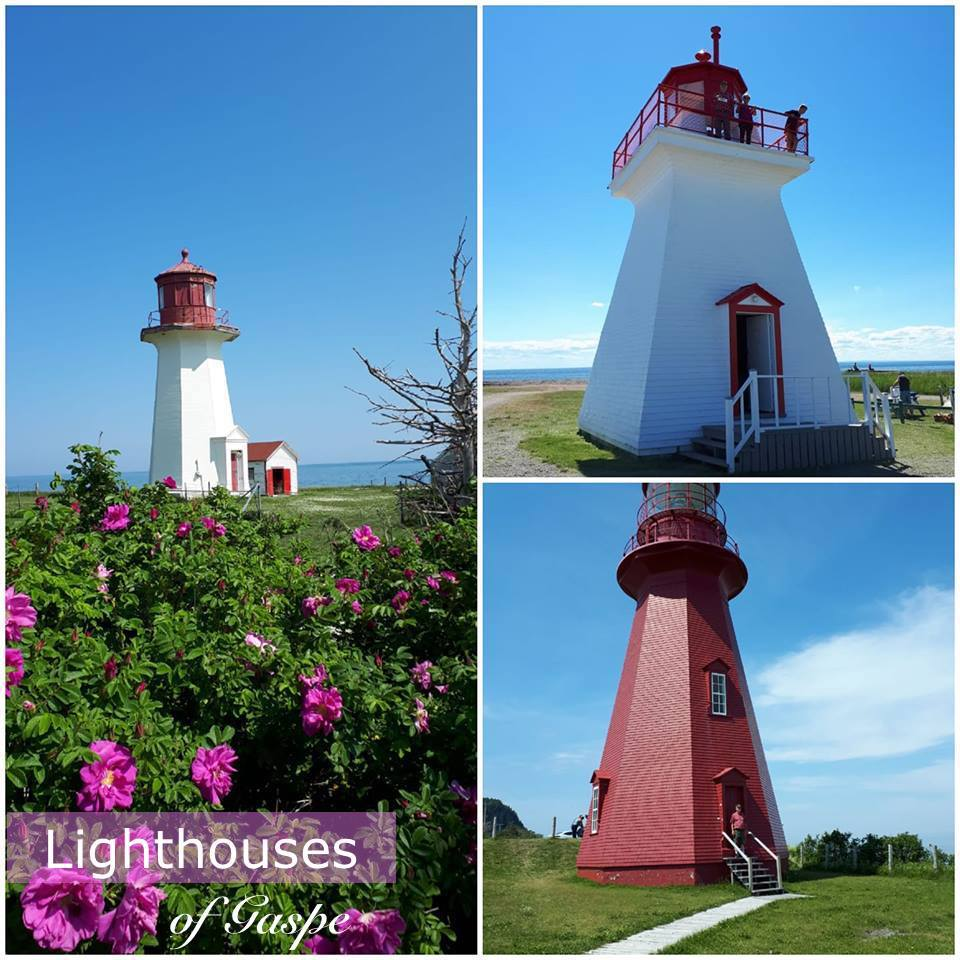 The Lighthouses Of Gaspé
