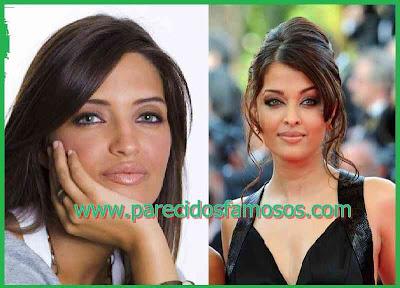 Aishwarya Rai y Sara Carbonero