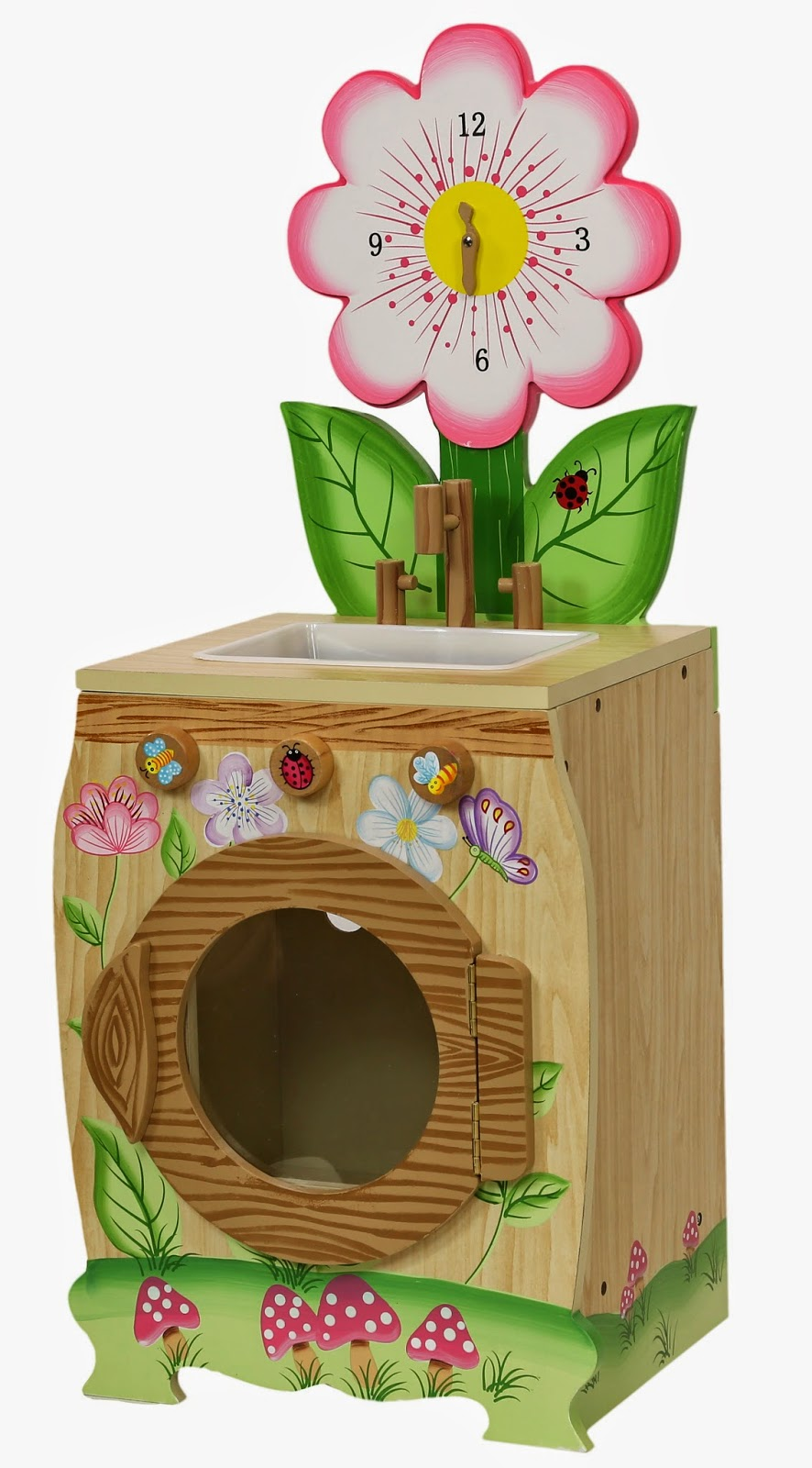 Play Kitchen Washing Machine Teamson Enchanted Forest