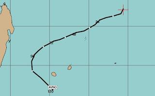 Tropischer Zyklon ANAIS Mauritius und La Reunion aktuell, Anais, aktuell, major hurricane, Satellitenbild Satellitenbilder, Vorhersage Forecast Prognose, Mauritius, Zyklonsaison Südwest-Indik 2012 2013, Verlauf, Zugbahn, Oktober, 2012,