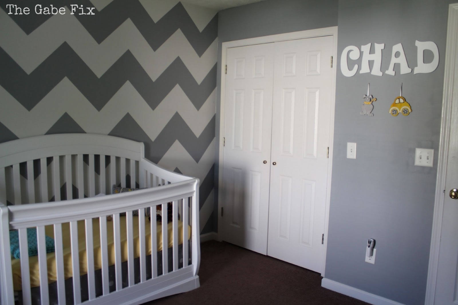baby chad 39 s nursery the gabe fix by gabrielle flowers. Black Bedroom Furniture Sets. Home Design Ideas