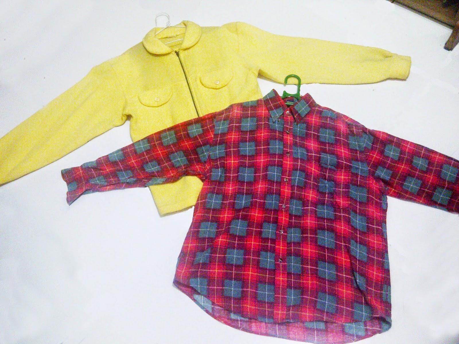 baju bahan wool