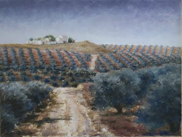 Cadenas desde el carril de Fuerte del Rey; Torredelcampo, Jaén (12P)