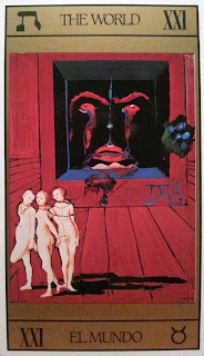 El Mundo- Tarot de Dalí