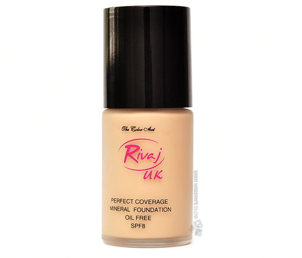 Rivaj UK Perfect Coverage Mineral Foundation in 'Natural Beige'