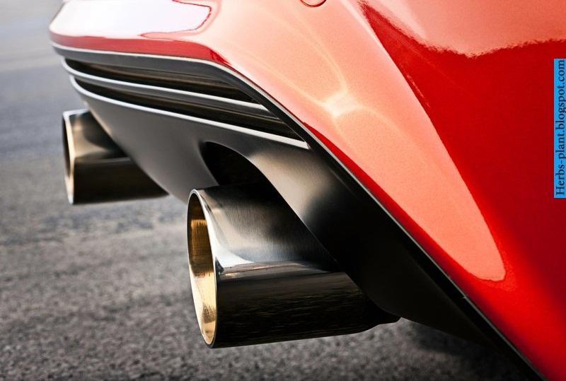 Opel corsa car 2013 exhaust - صور شكمان سيارة اوبل كورسا 2013