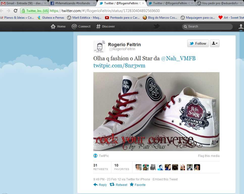 jardim rosas de saron:Converse All Star Customizado – Rock Your Converse!: Press Release – O