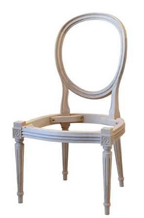 Here The Chair Frame I Have My Eye On Finished In A Creamy White