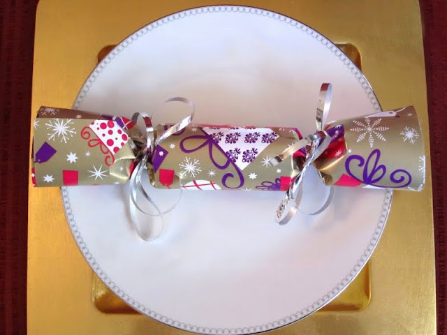 christmas cracker DIY