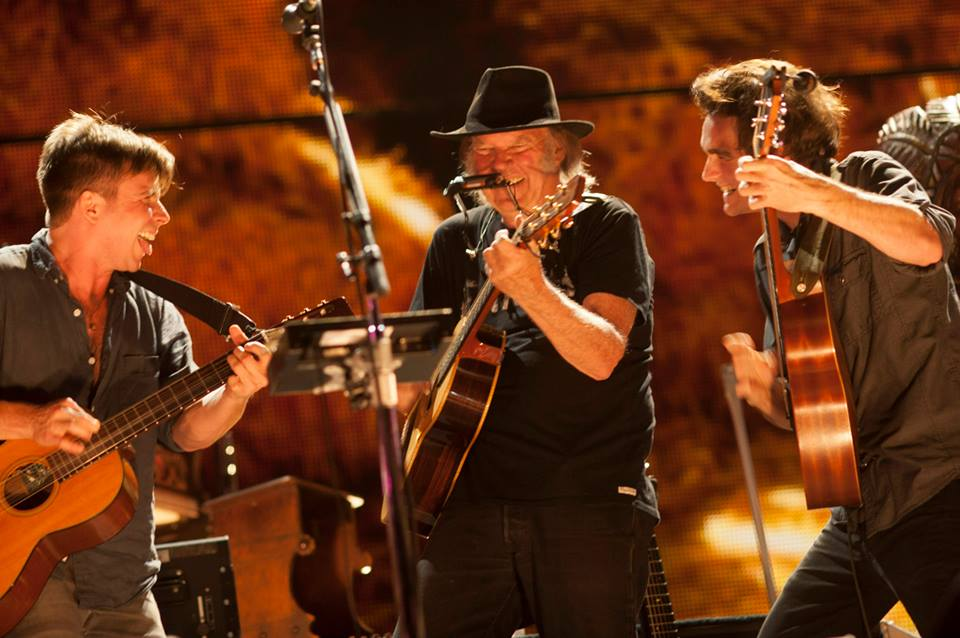 Neil Young FarmAid 2014