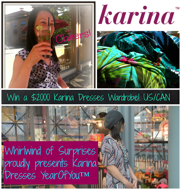 #Frockstar, Win a year's worth of Karina Dresses, #Giveaway, #sweepstakes