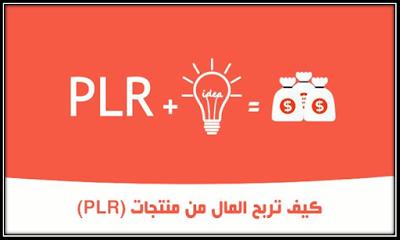 كيف تربح المال من,الحصول على منتجات PLR,كيفيه استخدام منتجات plr,طرق الربح,plr products