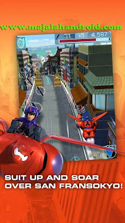 Big Hero 6: Baymax Blast v1.1 Apk Mod (Mod Money/Unlocked)