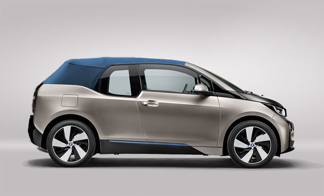 What a BMW i3 Convertible might look like