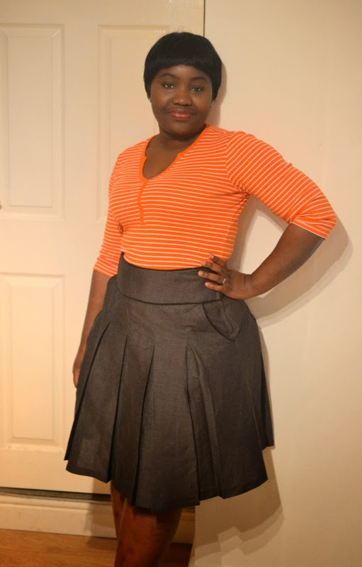 Stepalica Patterns: Zlata suknja - testiranje kroja, MissDibs