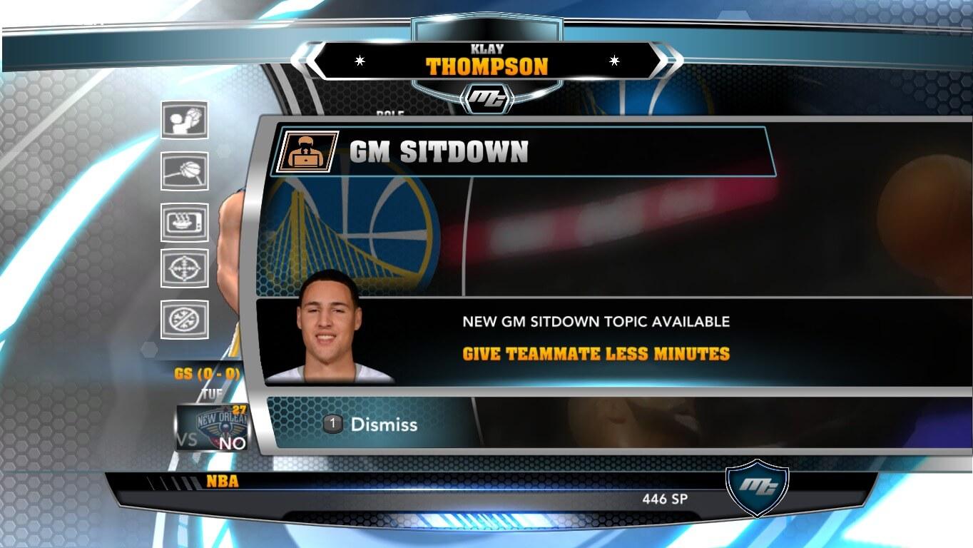 NBA 2k14 MyCareer Mod : Klay Thompson