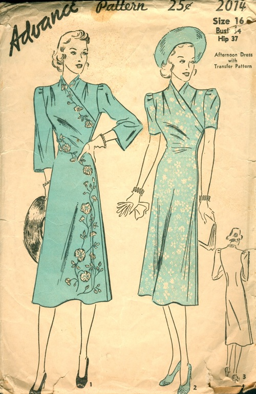 dating sewing patterns In sewing and fashion design, a pattern is the template from which the parts of a garment are traced onto fabric before being cut out and assembled patterns are usually made of paper, and are sometimes made of sturdier materials like paperboard or cardboard if they need to be more robust to withstand repeated use.