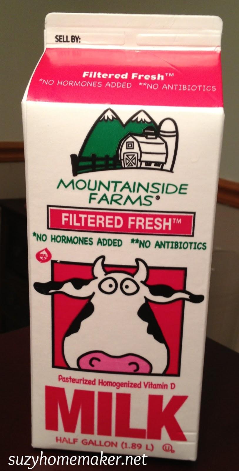 Is mountainside farms milk organic