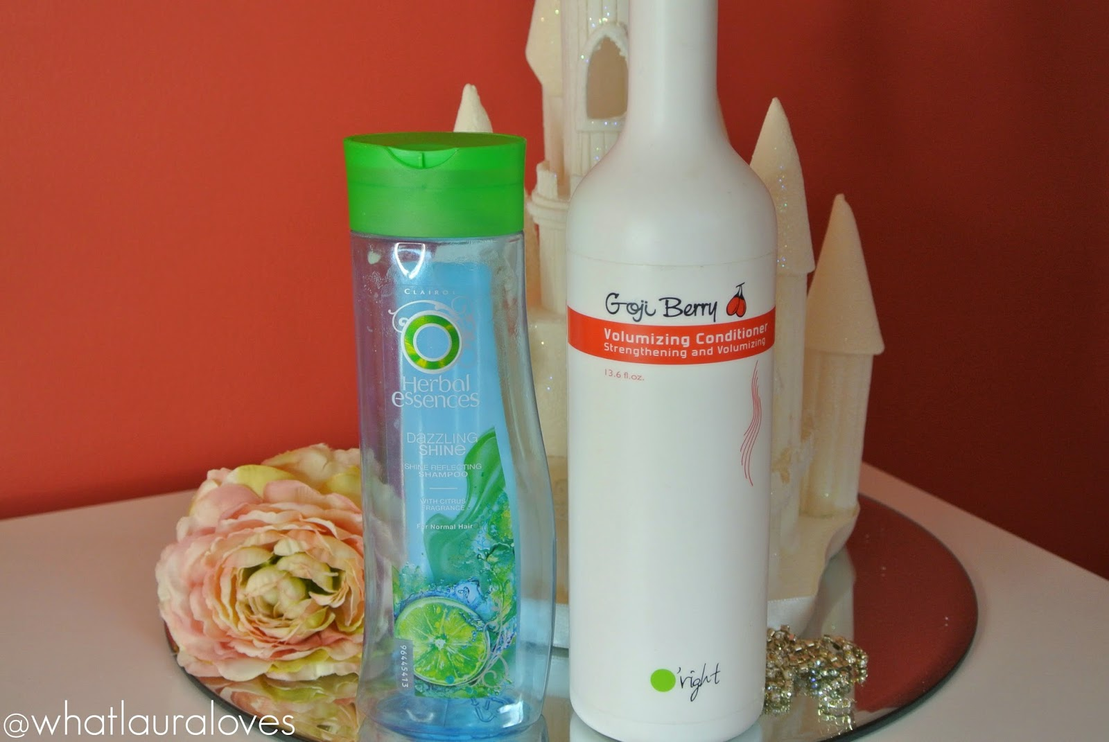 Herbal Essences and O'Right Shampoo and Conditioner