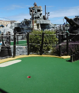 Photo of the Treasure Island Adventure Golf course on Long Curtain Road in Southsea