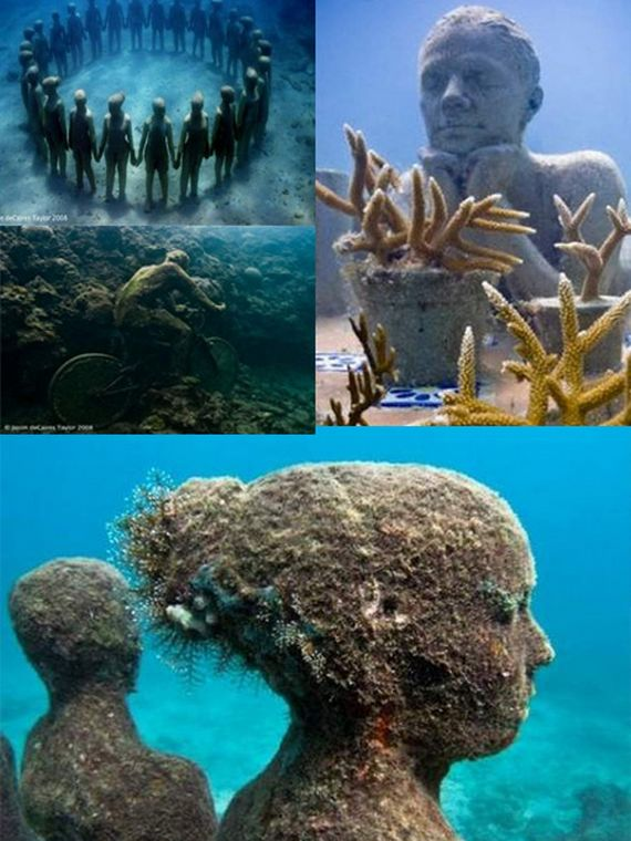 World Of Mysteries Coolest Underwater Places - 6 amazing underwater attractions