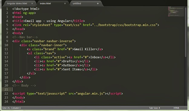 All Things Geeky Make Your Own Email App Using AngularJS Part - Make own email