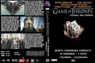 GAME OF THRONES (GUERRA DOS TRONOS) QUINTA TEMPORADA COMPLETA