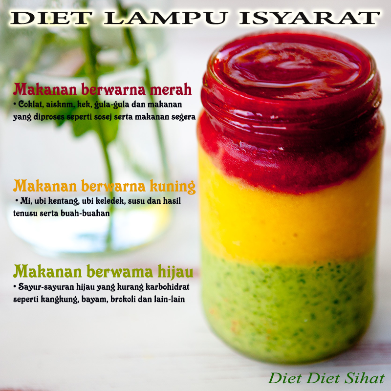diet ikut warna