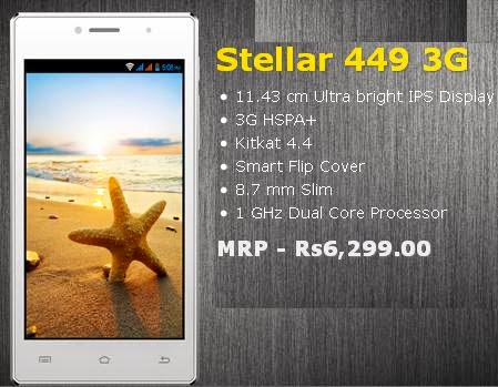 Spice Stellar 449 3G price images