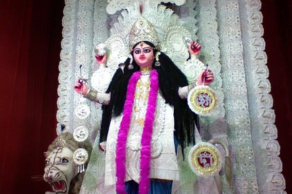 Jagaddhatri Stotram Puja Baburbazar Chandannagar