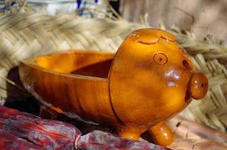 terracotta chorizo pigs