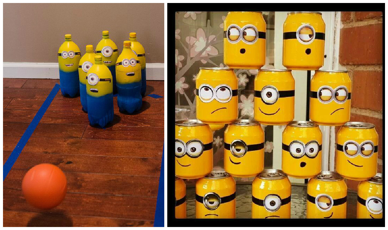 Decoraci n y ideas para una fiesta de minions cositasconmesh for Decoracion y ideas